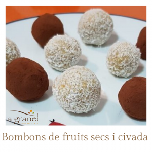 BOMBONS DE FRUITS SECS I CIVADA